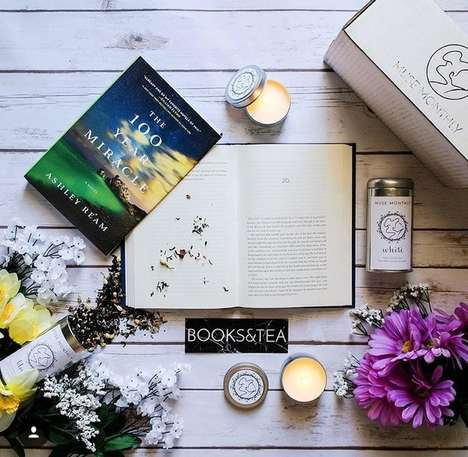 Literature and Tea Subscriptions - Muse Monthly is a Subscription Service Suited for Book Lovers