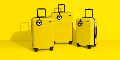 Cartoon-Themed Luggage - The New Minions Suitcase Collection from Away is Chic Yet Adorable