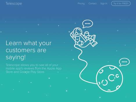 App Review Startups - Telescope Notifies You in Real Time of Your Latest Mobile App Reviews