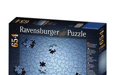 Cryptic Colorless Puzzles - The Ravensburger Krypt Silver Black Puzzle is Exceedingly Difficult