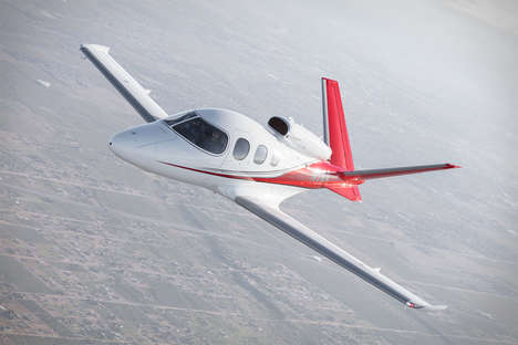 Simple Operation Personal Jets - The Cirrus Vision Jet is Easy Enough for Anyone to Fly