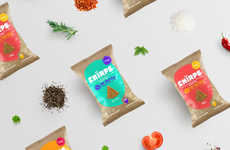 Revamped Cricket Chips Packaging