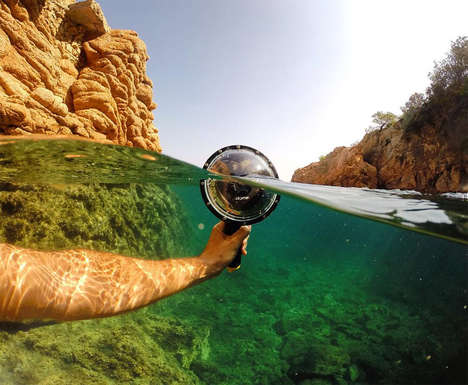 Domed Underwater Camera Cases - The 'Dome GoPro' Works with Any GoPro Model for Impressive Shots