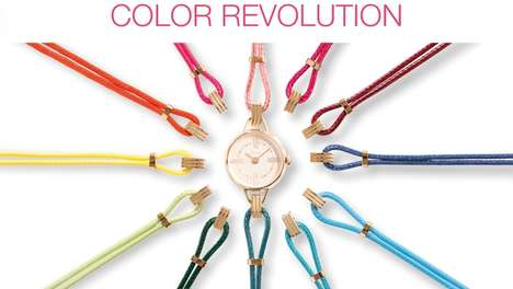 Convertible Vintage-Inspired Watches - The SILA Interchangeable Watch Has 20 Feminine Strap Options