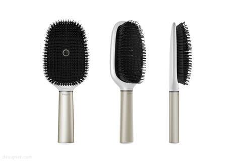 Tech-Infused Hair Brushes - Withings Hair Coach Uses Smart Technology to Track Your Hair's Health