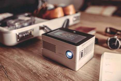 Modular Mobile Projectors - The 'iBeamBLOCK' Projection System Works with PCs, Tablets and More