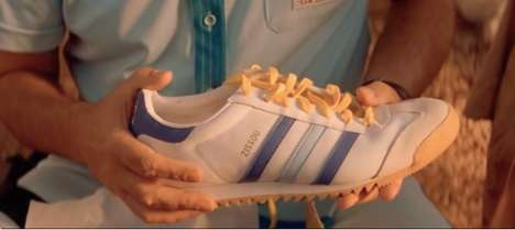 Aquatic Sneaker Releases - The Wes Anderson-Inspired Adidas Zissou Shoes are Limited Editions