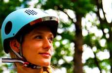 Responsive Bike Helmets - The Classon Helmet Will Inform the Wearer If They're in a Car's Blind Spot