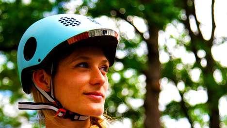Responsive Bike Helmets
