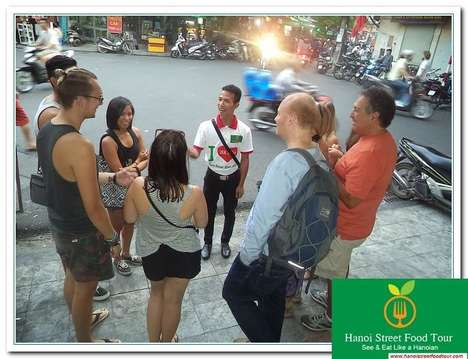 Asian Street Food Tours - The Hanoi Street Food Tour Gives Travelers an Authentic Eating Experience