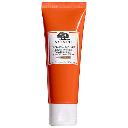 Tinted SPF Moisturizers - The Origins GinZing Collection Includes a Lightweight Moisturizing Product