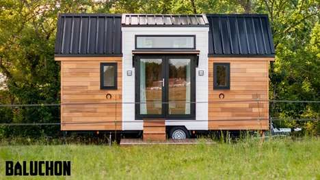 Stable-Inspired Tiny Homes - The Ostara Tiny Home Takes Design Cues From Equine Architecture