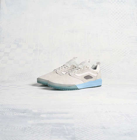 Cushioned Skate Shoes - The Vans UltraRange Pro Line Offers Cushioned Comfort and Seamless Style