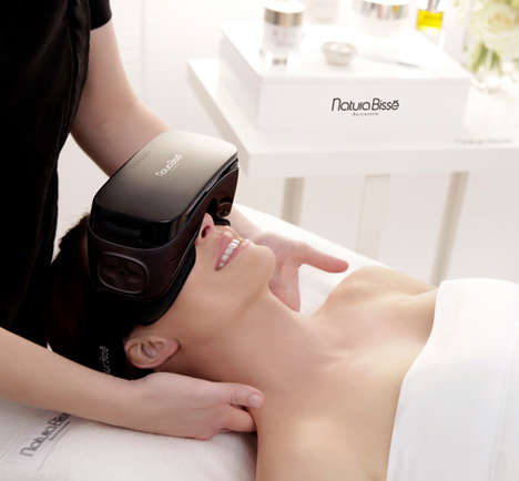 VR Oxygen Facials - Natura Bissé's Mindful Touch Experience Takes Place Inside an Oxygen Bubble