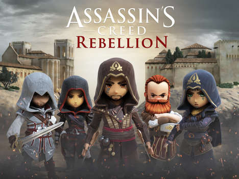 Mobile Assassin Games - 'Assassin's Creed Rebellion' is a Strategy Game Based on the Ubisoft Title