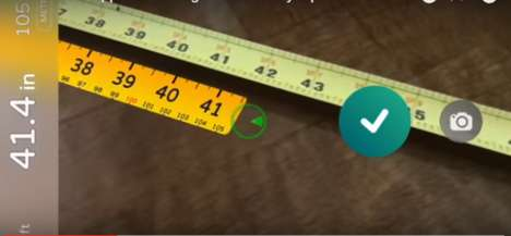 Augmented Reality Tape Measures