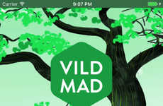 Foraging-Focused Food Apps - The Vild Mad App Teaches You to Forage For Wild Foods