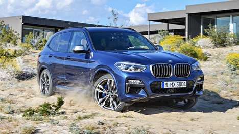 Aerodynamic Luxury Crossover SUVs - The New BMW X3 Promises Improved Highway Performance