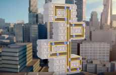 Magnetic Multi-Directional Elevators