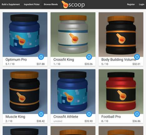 The Scoop Service Lets Users Buy Customizable Supplements