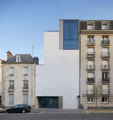 Monolithic Marble Museums - Stanton Williams Designed an Extension for the Musee d'arts de Nantes