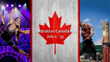 Patriotic Theme Park Parties - Canada's Wonderland Celebrates Canada 150 with a Month-Long Party