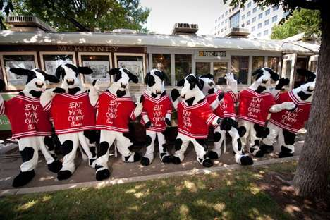 Cow Camouflage Campaigns - Chick-fil-A's 'Cow Appreciation Day' Rewards Customers for Bovine Apparel