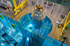 Astronaut Training Pools - 'Blue Abyss' is a Training Facility for Future Commercial Astronauts