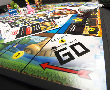Classic Game Mash-Ups - The Remixed Board Game 'Monopoly Gamer' Fuses Super Mario and Monopoly
