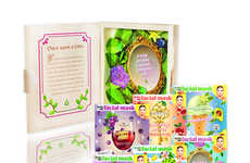 Storybook Face Mask Branding - BioBelle's Diary of Beauty Secret Kit Features 6 Signature Products