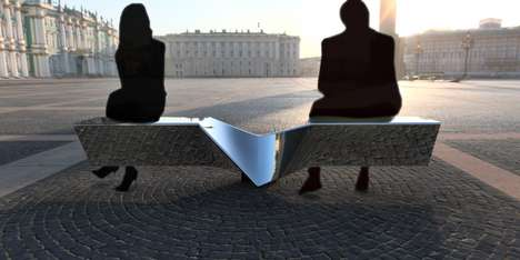 Seesaw-Inspired Benches - The 2toTango Seesaw Bench Encourages Social Interactions in Public Spaces