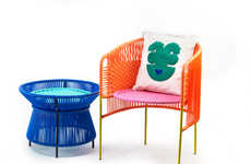 Recycled Plastic Patio Furniture - The 'CARIBE' Series for 'ames' is Both Fun and Functional