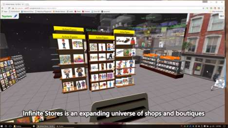 VR Shopping Experiences - Infinite Stores Helps Retailers Create Virtual Boutiques