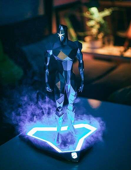 Human-Shaped Bluetooth Speakers - K-Sound Heroes Bluetooth Speakers Have Built in Smoke Machines
