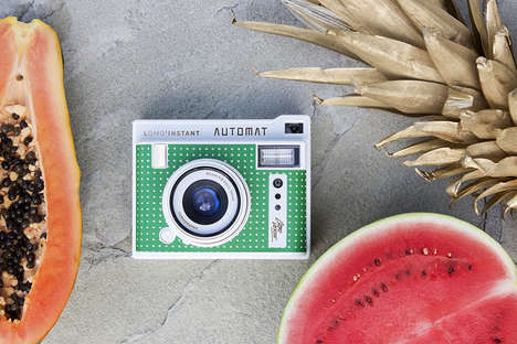 Summer-Ready Instant Cameras - This Lomography Instant Camera Was Inspired by Volcanic Beaches
