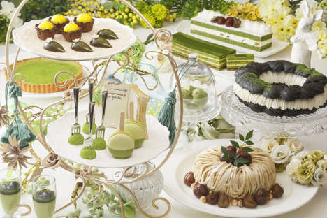 Matcha-Themed Dessert Buffets - The MATCHA Sweets Garden Buffet Will Offer Dozens of Matcha Treats