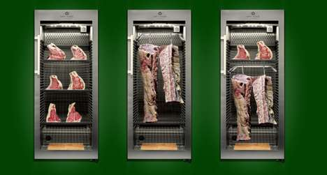 This German-Made Dry Aging Fridge Preserves Meat Perfectly at Home