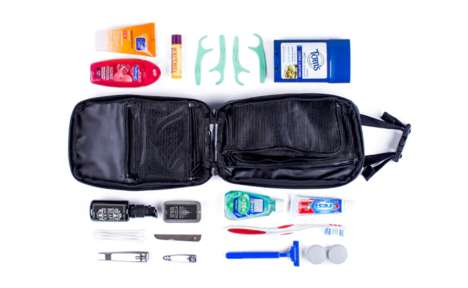 Compartmentalized Toiletry Bags