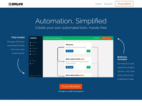 Online Automation Builders - New SaaS Venture Omlyx Helps You Build and Manage Automated Bots