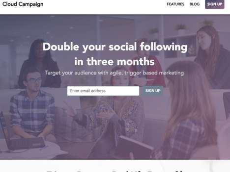 AI-Optimized Social Marketing - Startup Cloud Campaign Improves Social Posts with Machine Learning
