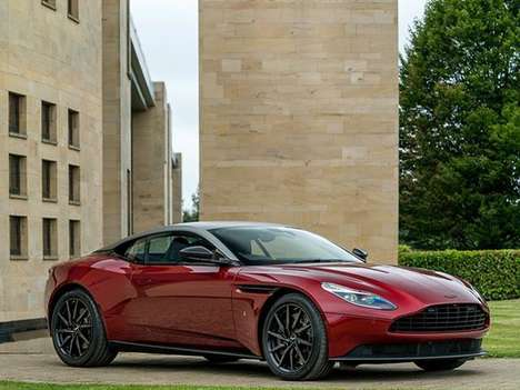 Rowing-Inspired Sports Cars - The Henley Royal Regatta DB11 Pays Tribute to a Famous River Race