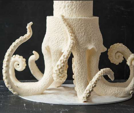 Octopus Wedding Cakes