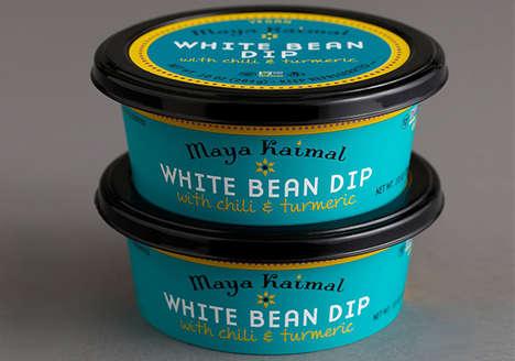 Indian-Inspired Bean Dips