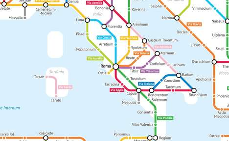Roman Subway Maps
