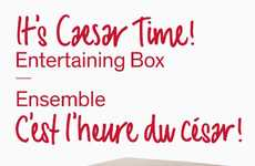 Celebratory Canadian Cocktail Kits - The LCBO's Caesar Entertaining Kit Celebrates Canada's Birthday