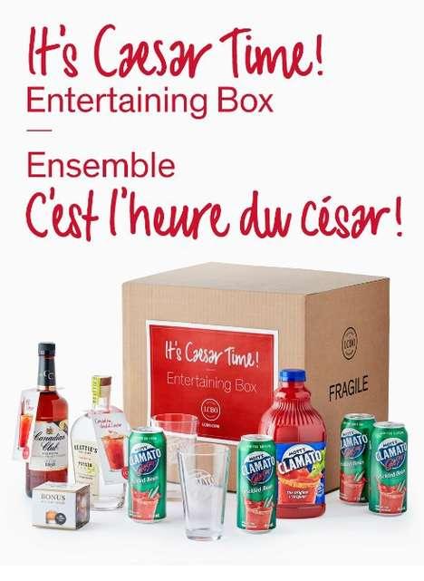 Celebratory Canadian Cocktail Kits
