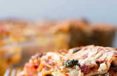 Plant-Based Lasagna Recipes - This Recipe for Vegan Lasagna Features a Creamy Tofu Ricotta Filling