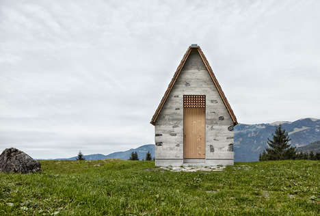 Humble Alpine Chapels - The Wirmboden Chapel is a Statement on the Collective Spirit