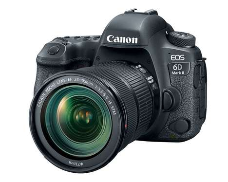 Updated Prosumer Cameras - The New Canon 6D Mark II is an Upgrade on the Original Model