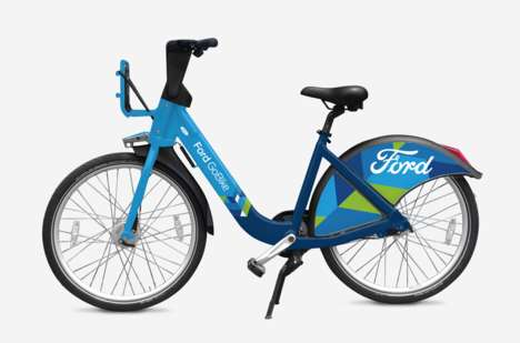 Vehicle-Branded Bike Sharing